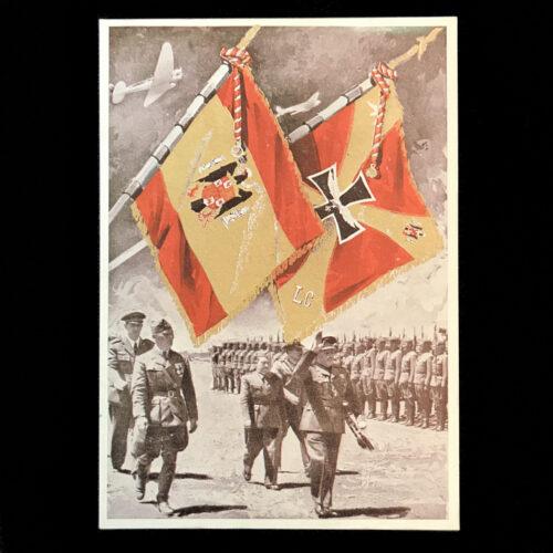 (Postcard) Legi(Postcard) Legion Condor flagson Condor flags