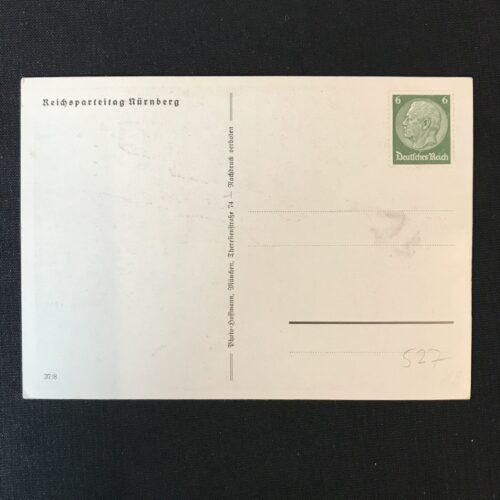 (Postcard) Reichsparteitag Nürnberg with BDM girl (Rare!)