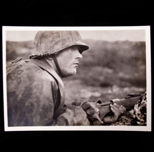 (Postcard) Waffen-SS - Kampf der SS-Gebirgsdivision Nord in Karelien - Der Lapplandkämpfer