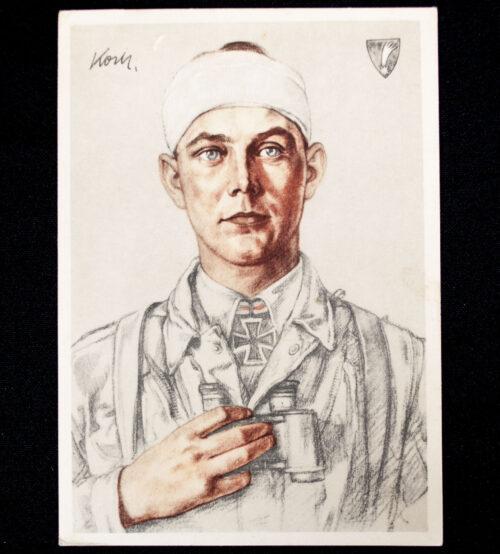 (Postcard) Willrich - Major Koch Eroberer des Forts Eben Emael