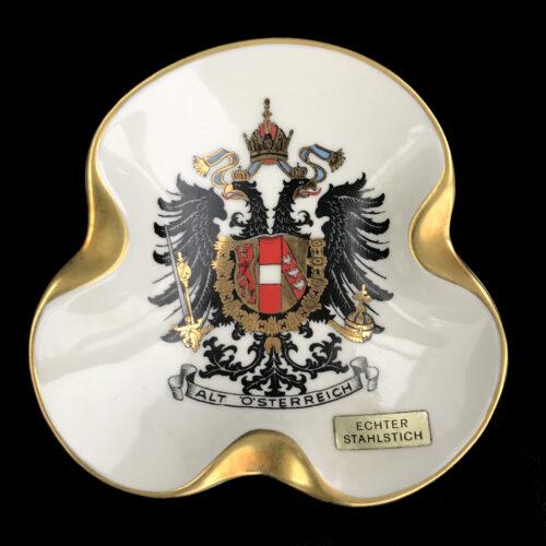 (Reservistica) Imperial Austria Patriottic Ashtray (pre-1918)