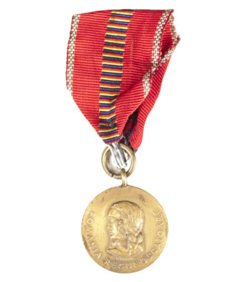 Romanian Medal Kreuzzug gegen den Kommunismus medal