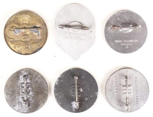 Tag der Arbeit abzeichen - complete serie 1934-1939