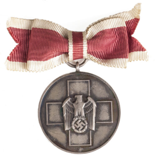 Volkspflege medaille an Damenschleife Social Welfare medal on female ribbon bow
