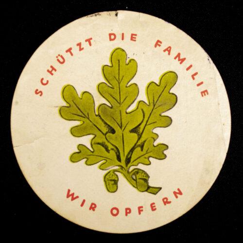 WHW Winterhilfswerk 1. Winterhilfswerk des Deutschen Volkes 193334 Türplakette (1934)