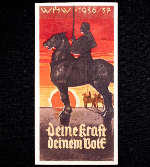 WHW Winterhilfswerk Türplakette Deine Kraft deinem Volk (193637)