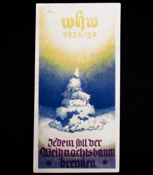 WHW Winterhilfswerk Türplakette Jedem soll der Weihnachtsbaum brennen (193637)
