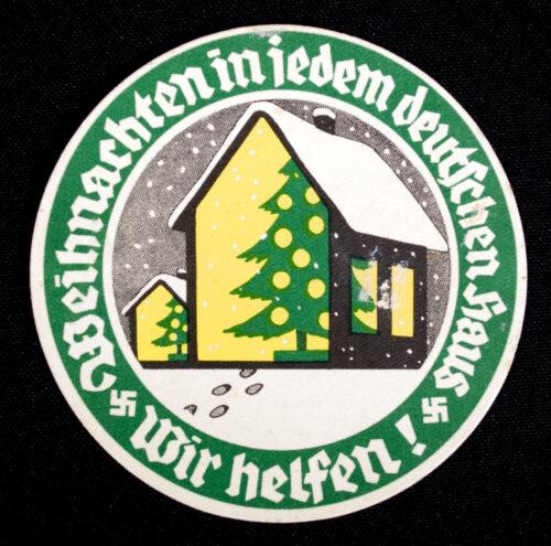 WHW Winterhilfswerk Weihnachten in jedem deutschen Haus - Wir helfen! (1933)