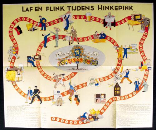 WWII Dutch Liberation board game Laf en flink tijdens Hinkepink