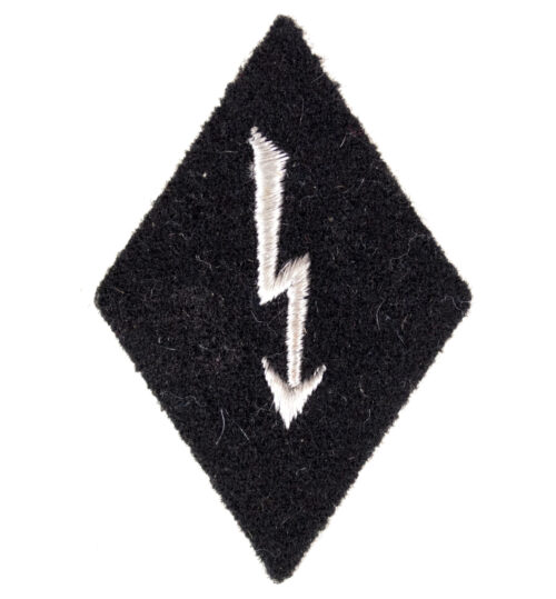 "Waffen SS – Funker ""radio operator"" sleeve insignia"