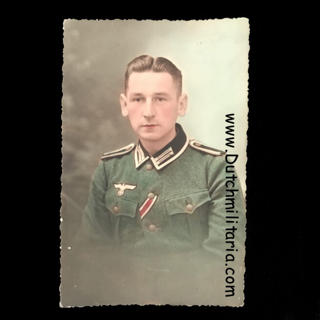 Wehrmacht (Heer) colored photo from an Infanterie soldier (1940)