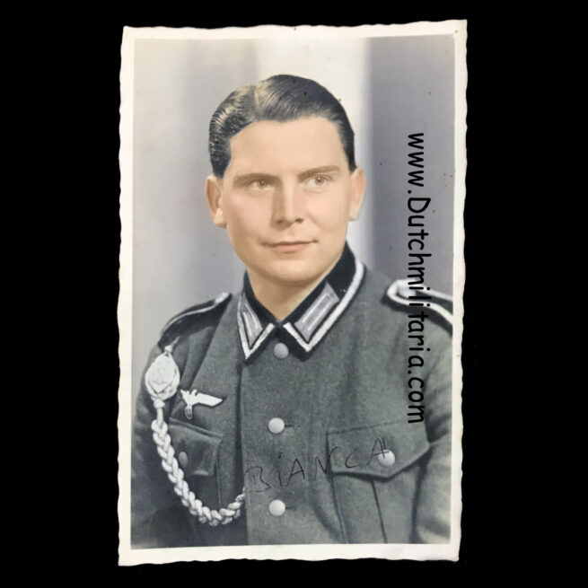 Wehrmacht (Heer) colored photo from an Infanterie soldier (Kaiserslautern)