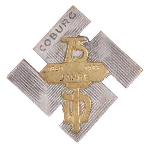 75 Jahre Deutscher Turnerbund Coburg 1860-1935 abzeichen