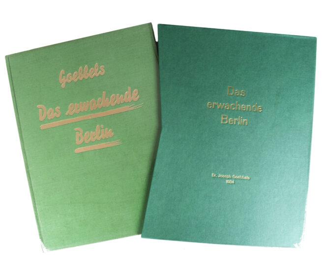 (Book) Joseph Goebbels - Das Erwachende Berlin (1934) - With collectors slipcase