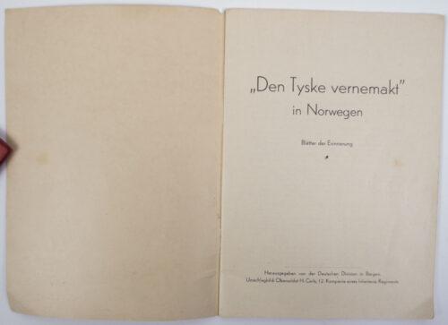 (Brochure) Den Tyske Vernemakt in Norwegen (194x)