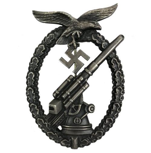 Flakkampfabzeichen der Luftwaffe Luftwaffe Flak Artillery badge (ballhinge)