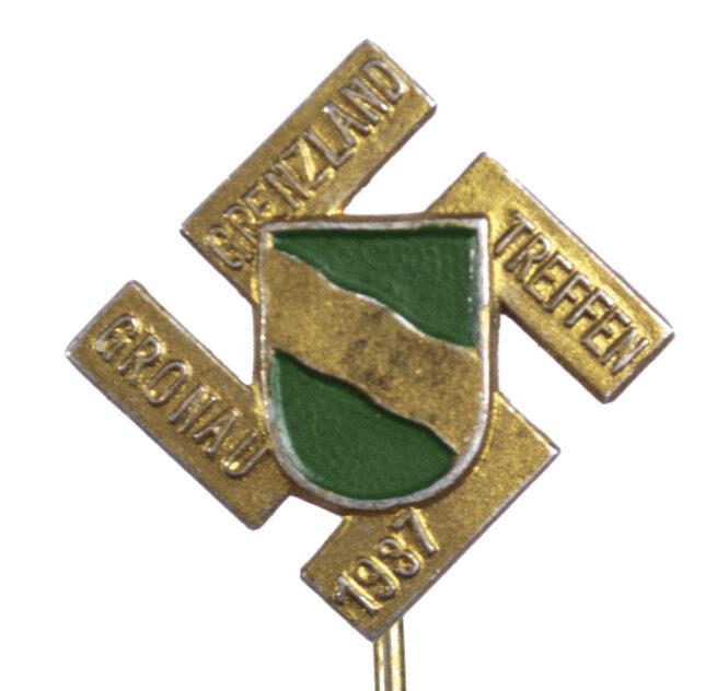 Gronau Grenzlandtreffen 1937 badge