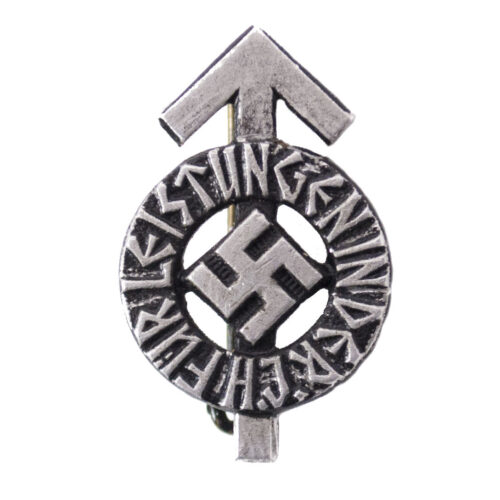 Hitlerjugend (HJ) miniature Leistungdabzeichen in black