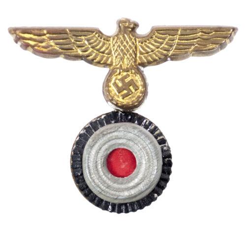 Kriegsmarine (KM) Mützenadler und Kokarde für die Tellermütze