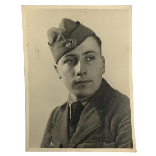 (Photo) Reichsarbeitsdienst (RAD) large portrait 24x18 cm