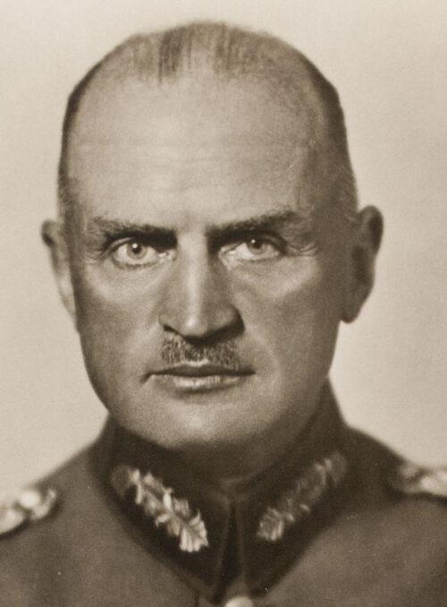 (Postcard) Generaloberst Blaskowitz - Commander Festung Holland