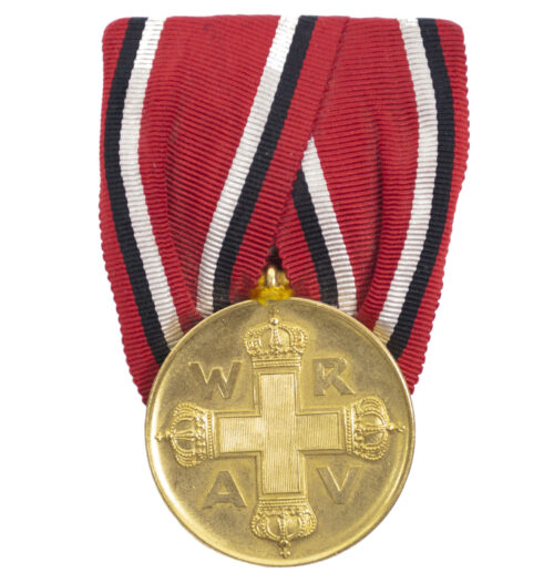 (Prussia) Einzelspange Rote Kreuz Medaille 3.Klasse 1898 in Bronze