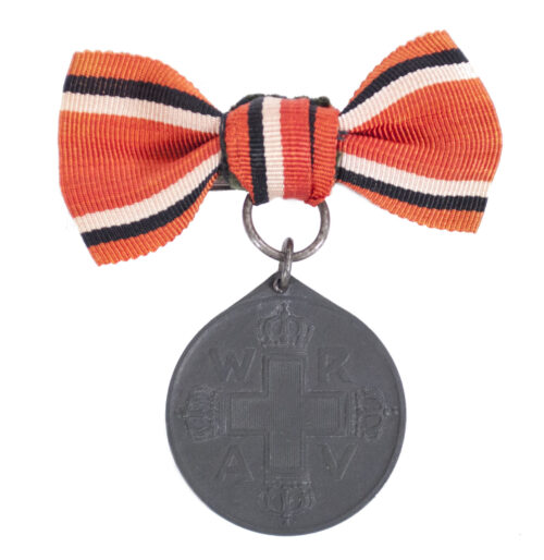 (Prussia) Female Einzelspange Rote Kreuz Medaille 1898 on bow