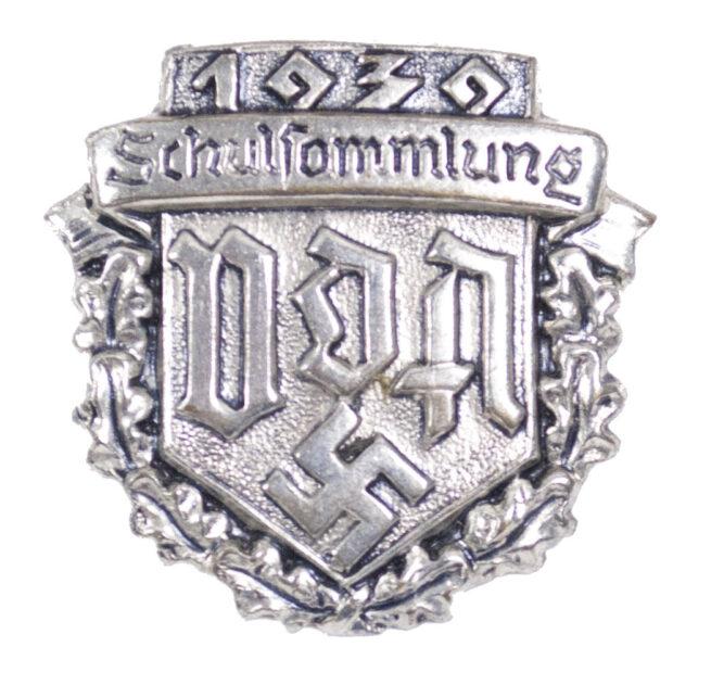 Verein für das Deutschtum im Ausland (VDA) Schulsammlung 1939 Abzeichen (rare!)
