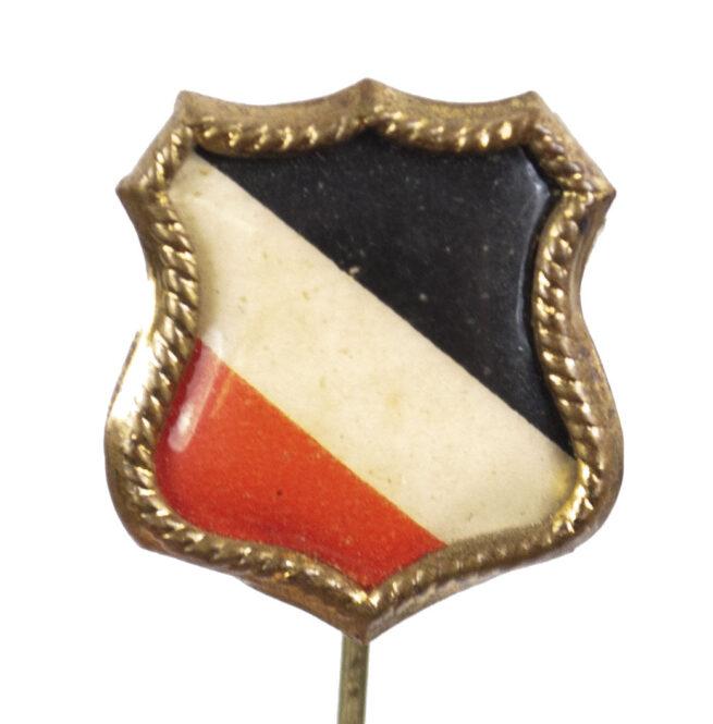 WWI German patriotic stickpin badge (German Imperial Flag)