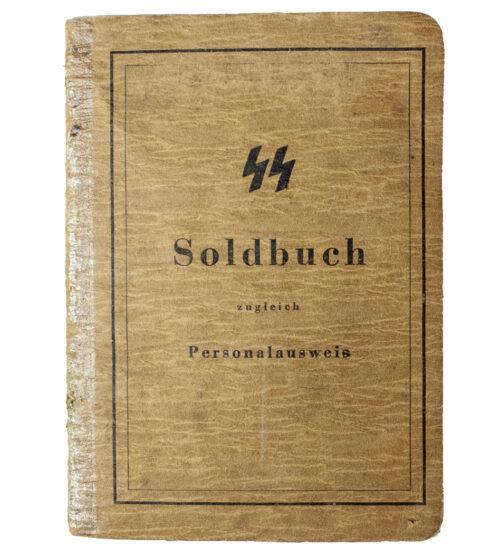 Waffen-SS soldbuch SS-Pz. Gren. Ers. Btl. 9