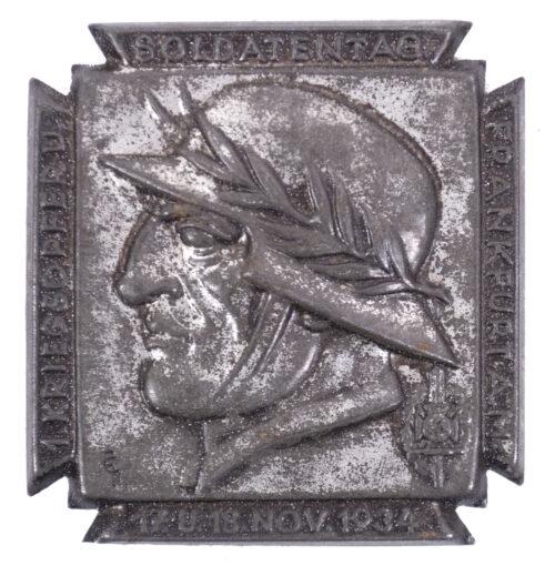1. Kriegsopfer. u .Soldatentag Frankfurt A.M. 17. u. 18. Nov. 1934