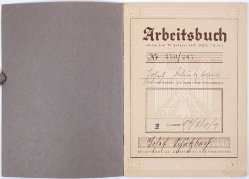 Arbeitsbuch 1e Type - Arbeitsamt Ravensburg