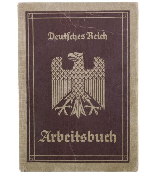 Arbeitsbuch 1e Type - Bayerische Flugzeugwerke + Special Flugzeug-Spezialarbeitercitation!