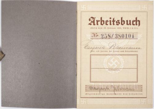 Arbeitsbuch 2e Type + Arbeitsamt Dresden