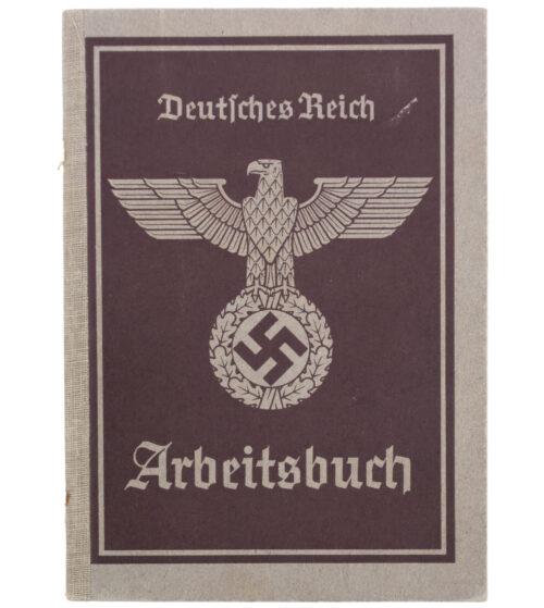 Arbeitsbuch 2e Type + Arbeitsamt Mähr-Trübau