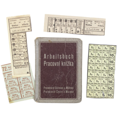 Arbeitsbuch Protektorat Böhmen und Mähren (Pracovni Knizka)