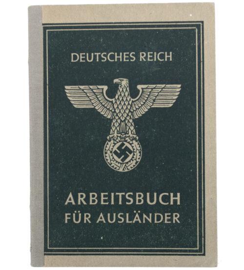 Arbeitsbuch für Ausländer (Italian) with passphoto