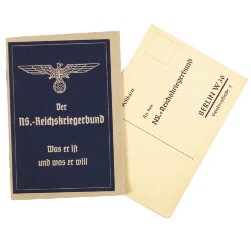 (Brochure) Der N.S. Reichskriegerbund - Was er ist, was er will