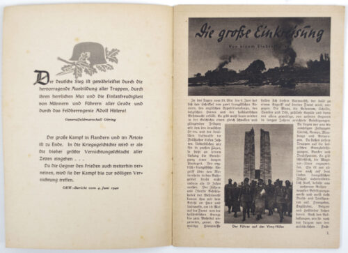 (Brochure) Stürm vor Englands Toren!