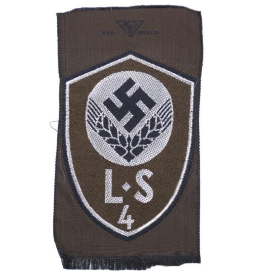 Führerinnen Ärmelabzeichen L.S 4 (Lager Schule 4 Illertissen)