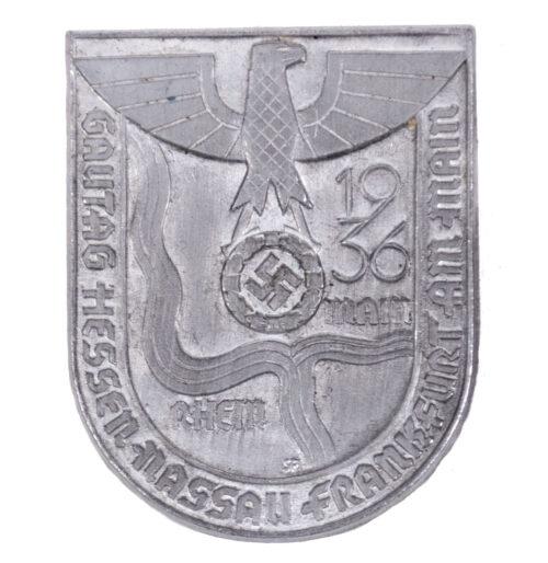 Gautag Hessen nassau Frankfurt am Main 1936