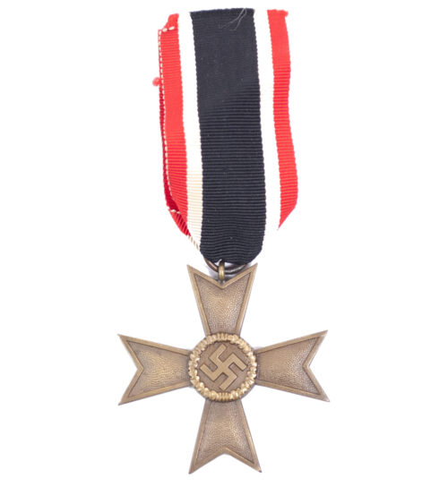 Kriegsverdienstkreuz (KVK) Ohnre Schwerter War Merit Cross without swords.