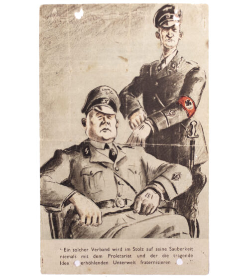 (Leaflet) Hitler's Freibrief für die SS