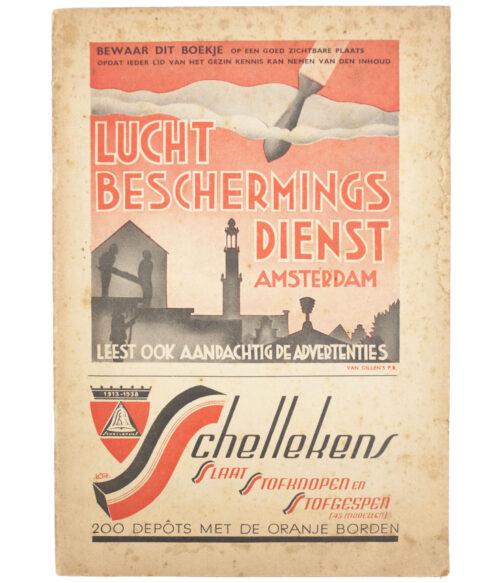 Luchtbeschermingsdienst (LBD) Amsterdam brochure
