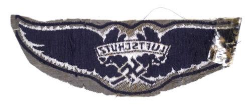 Luftschutz BeVo bullion metallic weave officer breast insignia