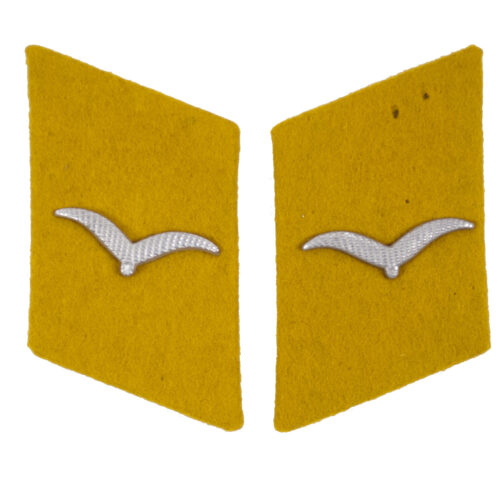 Luftwaffe Flying Personnel pair of collar tabs