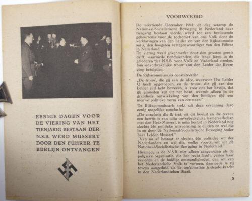 (NSB) De veertiende december 1941, beslissend voor de toekomst van ons volk