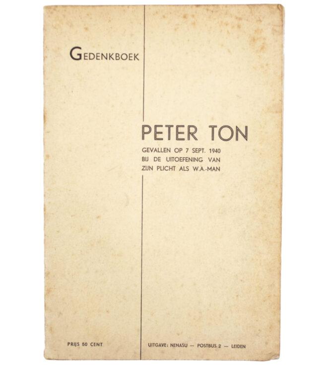 (NSB) Gedenkboek Peter Ton