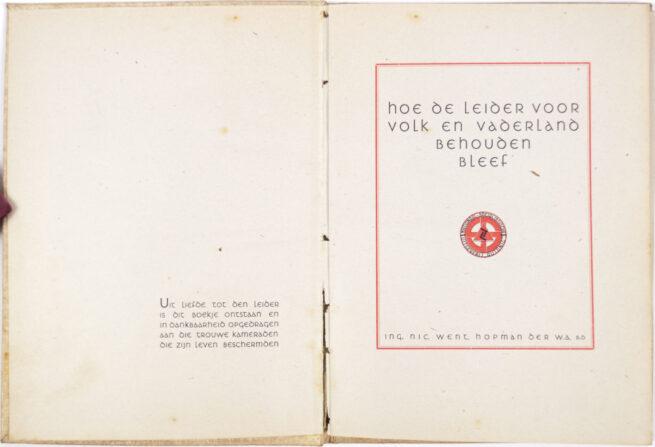 (NSB) Hoe de Leider voor volk en vaderland behouden bleef (1942)