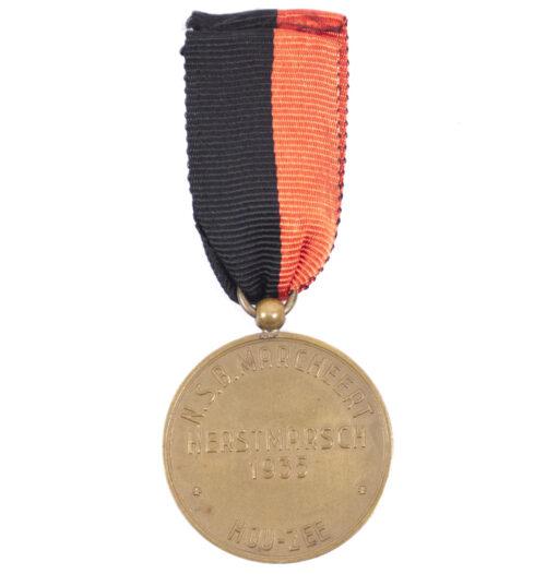 NSB Kerstmarsch medaille 1935